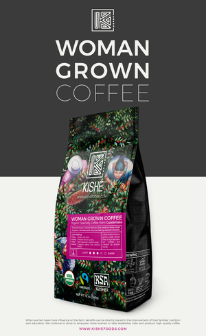 Woman-Grown Medium Roast Coffee