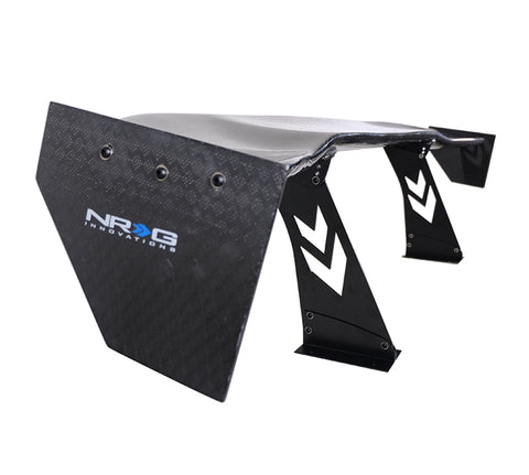 "Carbon Fiber Spoiler - Universal (69"") with NRG Logo and Diamond Weave"