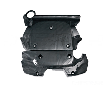 Black Carbon Fiber Engine Cover - 07-Up 350Z - Drive NRG