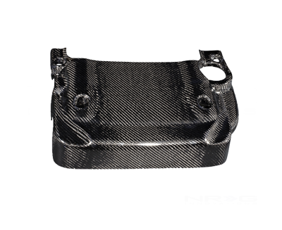 Black Carbon Fiber Engine Cover - 03-06 350Z (Also fits 03-06 Infiniti G35 2dr)