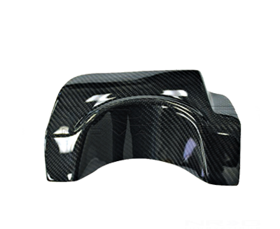 Carbon Fiber Exhaust Shield - 04-07 Subaru WRX STI
