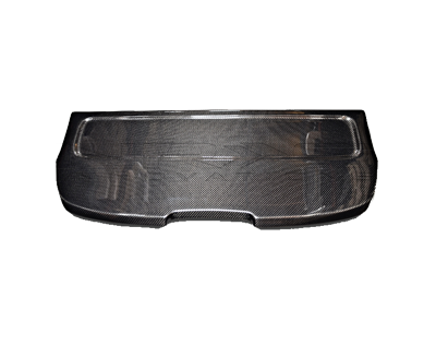 Black Carbon Fiber Interior Deck Lid 92-95 Honda Civic HB