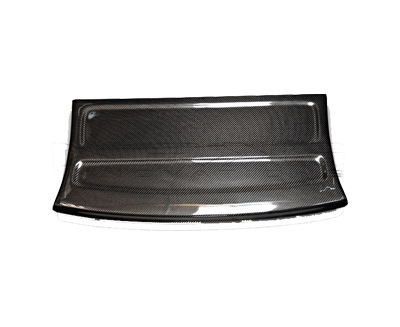 Black Carbon Fiber Interior Deck Lid 96-00 Honda Civic HB - Drive NRG