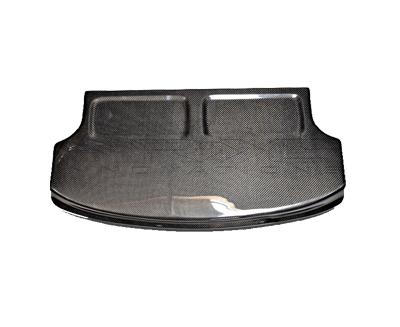 Black Carbon Fiber Interior Deck Lid 90-93 Acura Integra HB