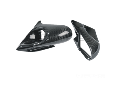 Carbon Fiber Spoon Style Mirror 92-95 Civic 2/3dr.