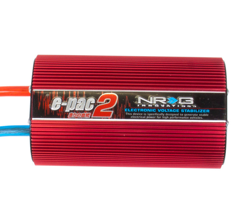 NRG EPAC Charging System - Red - Drive NRG