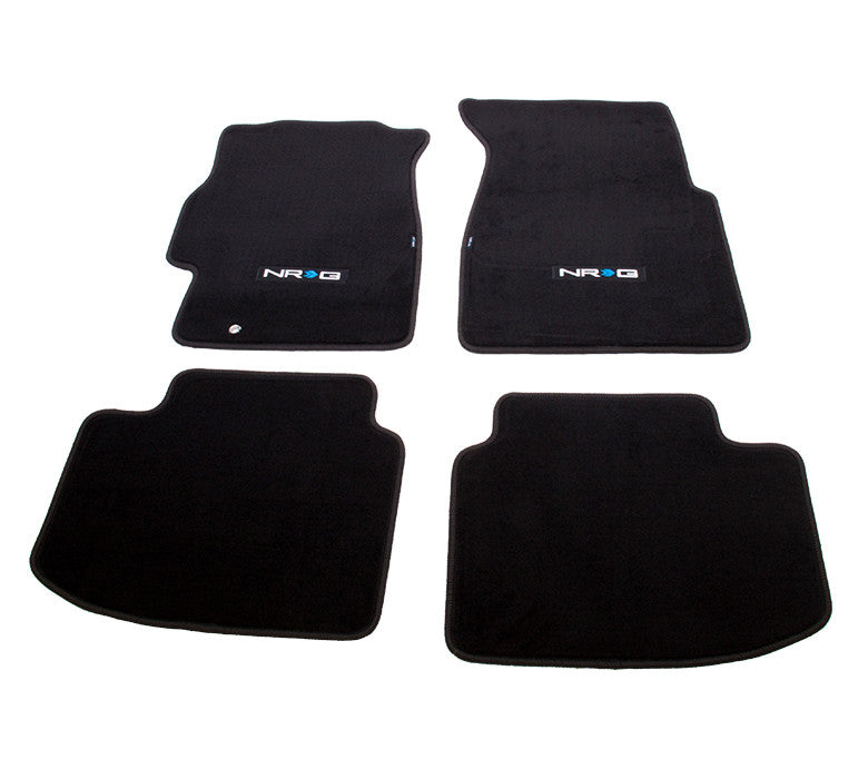 "NRG Innovations Floor Mats: 96-00 Honda Civic 2DR &3DR w/ ""NRG"" Logo (4 pieces) - Drive NRG"
