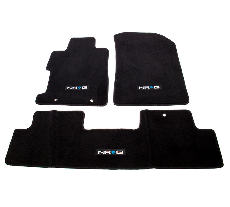 "NRG Innovations Floor Mats: 06-11 Honda Civic Si 2DR Coupe w/ ""NRG"" Logo (3 pieces)"
