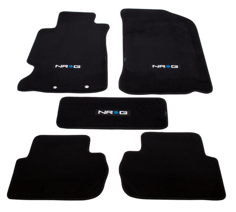 "NRG Innovations Floor Mats: 02-06 Acura RSX w/ ""NRG"" Logo (5 pieces)"