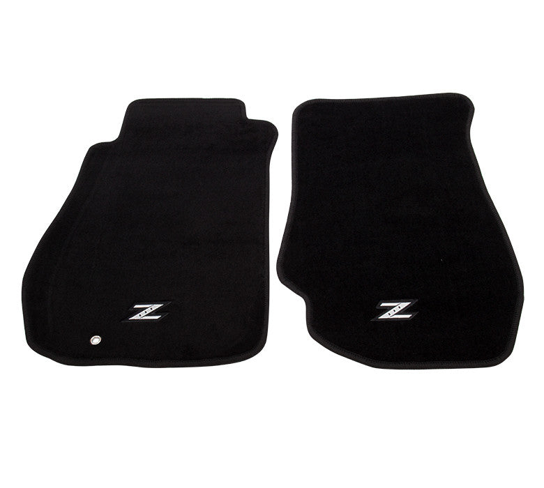 "NRG Innovations Floor Mats: 03-07 Nissan 350Z w/ ""Z"" Logo (2 pieces) - Drive NRG"