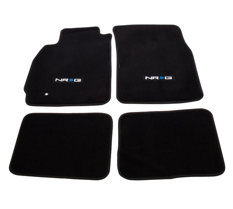 "NRG Innovations Floor Mats: 03-05 Evo 8 w/ ""NRG"" Logo (4 pieces)"