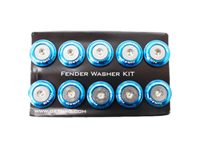 Fender Washer Kit FW-100 Blue - Drive NRG