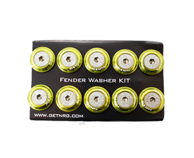 Fender Washer Kit FW-110 Light Green - Drive NRG