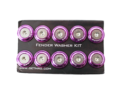 Fender Washer Kit FW-100 Purple - Drive NRG