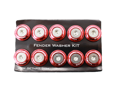 Fender Washer Kit FW-100 Red - Drive NRG