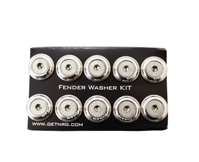 Fender Washer Kit FW-100 Silver