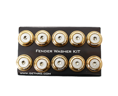 Fender Washer Kit FW-100 Titanium
