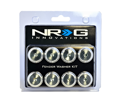Fender Washer Kit FW-800 Silver 8mm - Drive NRG