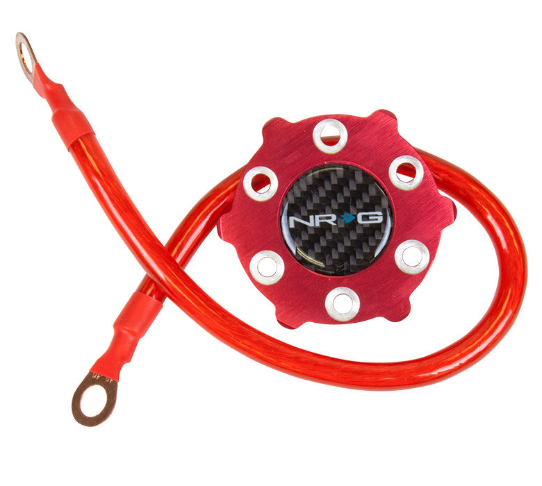 NRG Innovations Grounding System - Red - Drive NRG