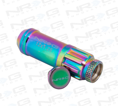NRG 700 Series Steel Lug Nut M12 x 1.25 (Neo-chrome 21pc)