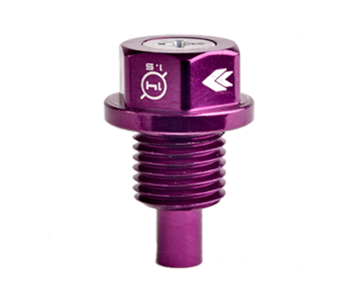 M14 X 1.5 Purple Magnetic Oil Drain Plug