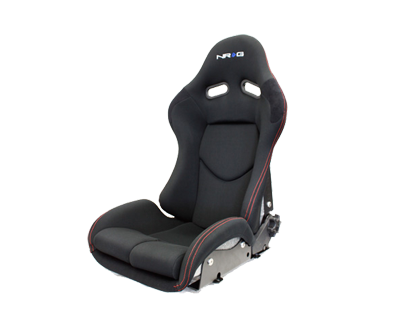 NRG RSC-400SL: Reclinable FRP Bucket Seat (Silver)