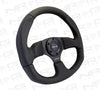 NRG RST-009R: 320mm Race Style Leather Steering Wheel - Drive NRG