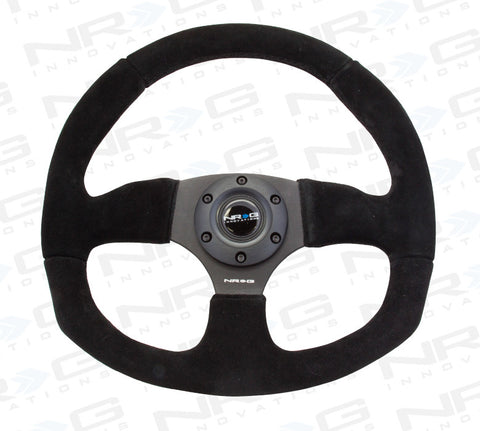 NRG RST-009S: 320mm Race Style Suede Steering Wheel
