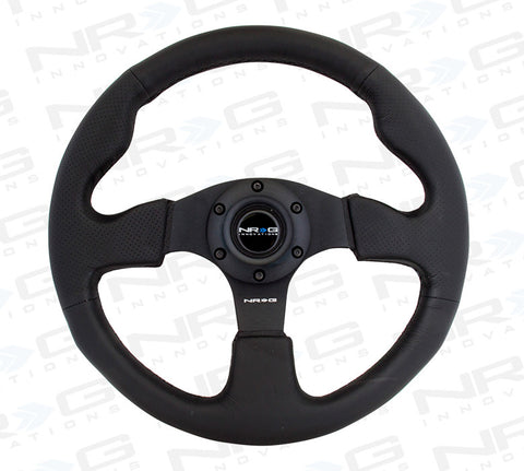 NRG RST-012R: 320mm Race Style Leather Steering Wheel