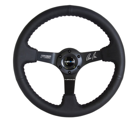 "NRG RST-036MB-R: 350mm ""ODI"" Aurimas Bakchis Signature Steering Wheel"