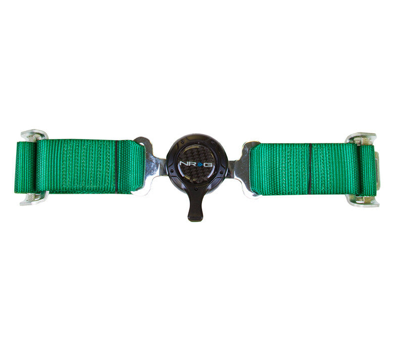 NRG SBH-4PCGN: 4 Point Seat Belt Harness / Cam Lock - Green - Drive NRG