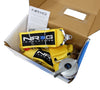 NRG SBH-R6PCYL: 5 Point Seat Belt Harness / Cam Lock - Yellow - Drive NRG