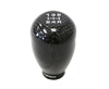 NRG SK-100BC-2-W: 42mm 5 Speed Black Carbon Fiber Heavy Weight Shift Knob for Honda - Drive NRG