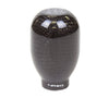 NRG SK-100BC-W: 42mm 5 Speed Black Carbon Fiber Heavy Weight Shift Knob (Universal)