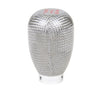NRG SK-100SC: 42mm 5 Speed Silver Carbon Fiber Shift Knob (Universal)