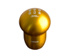 NRG SK-140RG: 5 Speed Super Low Down Shift Knob Rose Gold (Universal) - Drive NRG