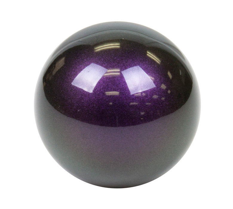 NRG SK-300GP: Ball Style Green/Purple Shift Knob (Universal)