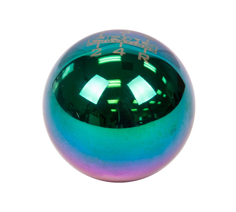 NRG SK-300MC-1-W: Ball Type Multi-Color Heavy Weight 6 Speed Shift Knob (Universal)