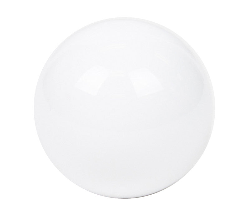 NRG SK-300WH-W: Ball Style Solid White Heavy Weight Shift Knob (Universal)