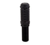 NRG SK-500BK-1: Black Stealth Style Adjustable Shift Knob - M10 x 1.25 - Drive NRG