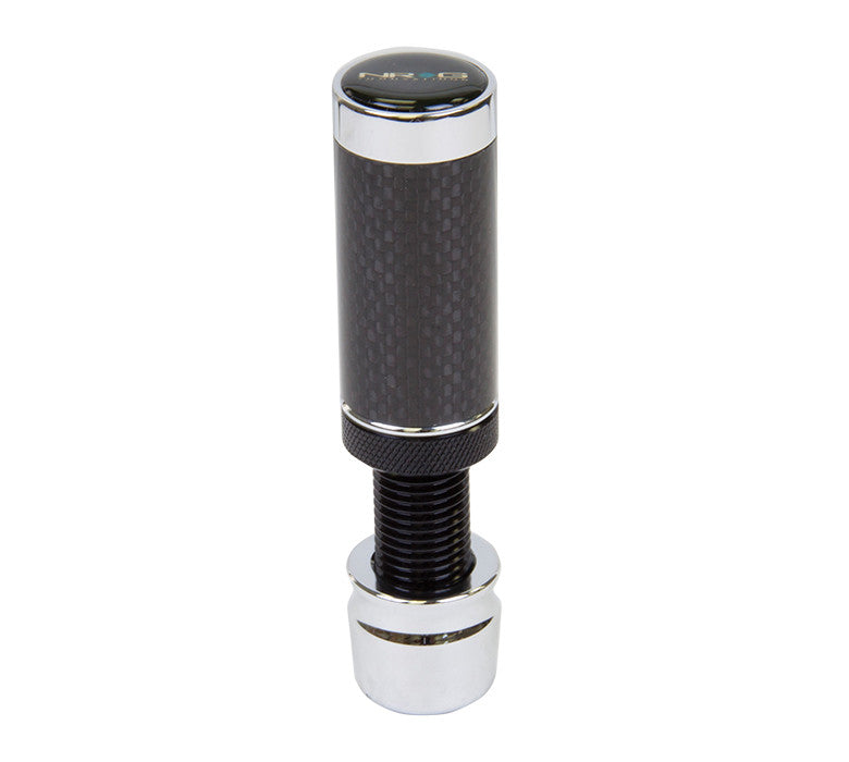 "NRG SK-580BC-2: Carbon Fiber ""Stealth"" Style Adjustable Shift Knob - M10 x 1.50 - Drive NRG"