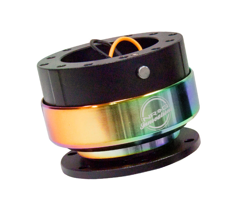NRG Quick Release Gen 2.0 (Black Body w/ Neochrome Ring) SRK-200BK-MC