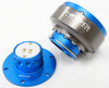 NRG Quick Release Gen 2.0 (Blue Body w/ Titanium Chrome Ring (5 hole) SRK-300BL - Drive NRG