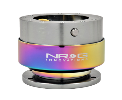 NRG Quick Release Gen 2.0 (Gun Metal Body w/ Neochrome Ring) SRK-200GM-MC - Drive NRG