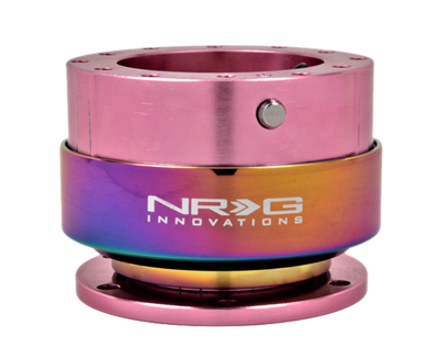 Orange Body//Titanium Chrome Ring NRG Innovations SRK-200OR Quick Release