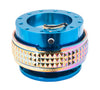 NRG Quick Release Gen 2.1 (Blue Body w/ Neo Chrome Diamond Ring) SRK-210BL-MC - Drive NRG