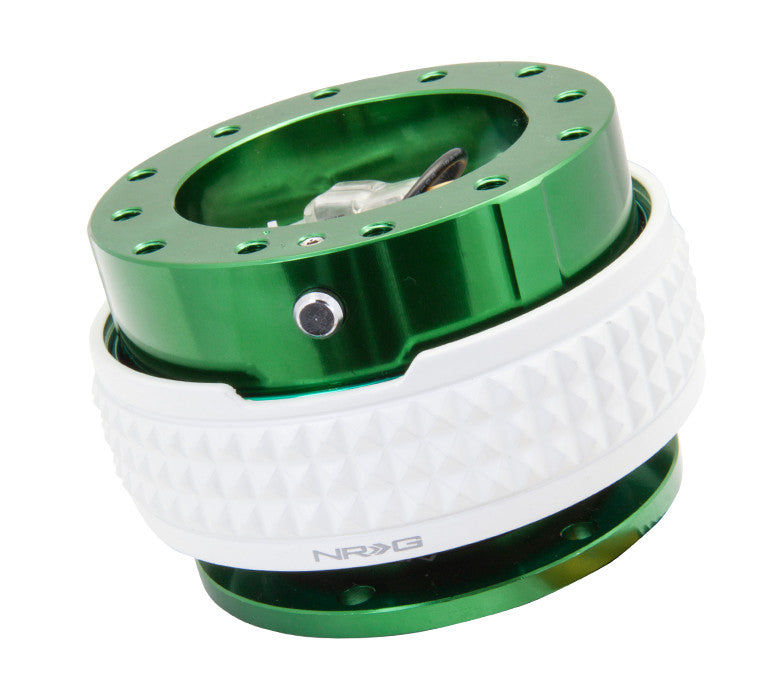 NRG Quick Release Gen 2.1 (Green Body w/ Glow in the Dark Diamond Ring) SRK-210GN-GL - Drive NRG