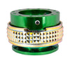 NRG Quick Release Gen 2.1 (Green Body w/ Neo Chrome Diamond Ring) SRK-210GN-MC - Drive NRG