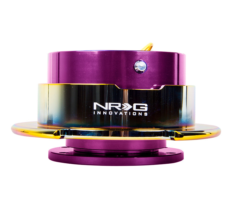 NRG Quick Release Gen 2.5 (Purple Body w/ Neo Chrome Ring) SRK-250PP/MC