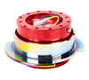 NRG Quick Release Gen 2.5 (Red Body w/ Neo Chrome Ring) SRK-250RD/MC